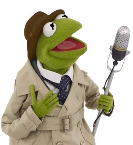 Reporter Kermit mic